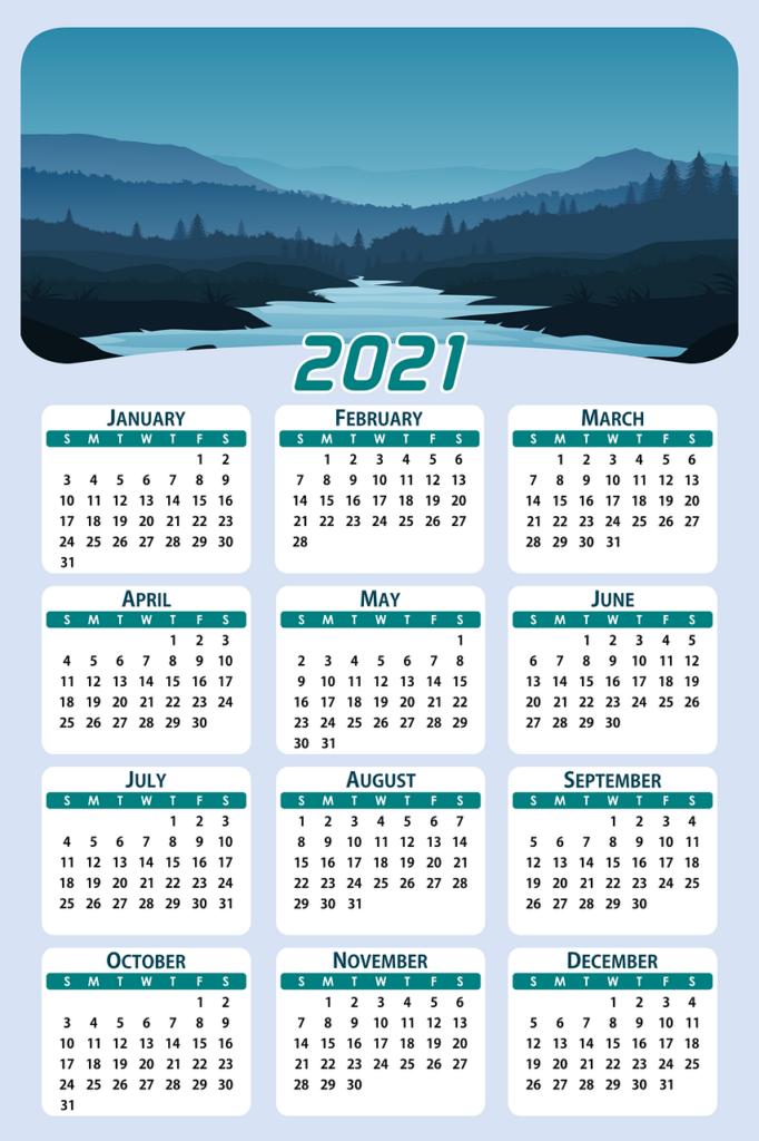 calendar, date, planera kalendern, 2021